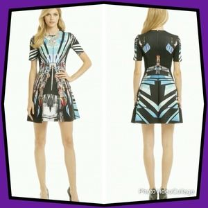 Clover Canyon Moscow Mix Up Print Dress